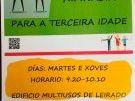 CLASES DE XIMNASIA TERCEIRA IDADE