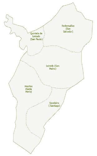 Mapa parroquias