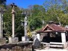 Via crucis e fonte en Xacebás